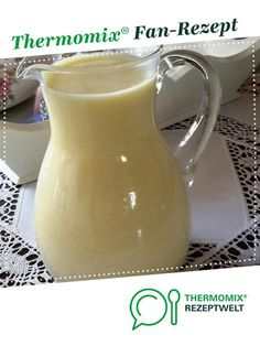 Vanilla sauce - quite simply from Husi. A Thermomix ® recipe from the Sauces / Dips / Spreads category on www.de, the Thermomix ® Community. Vanilla sauce - very simple gertrud wiegelmann gertrudwiegelma Termomix Dessers Vanilla sauce - Easy Donut Recipe, Donut Recipes, Side Recipes, Greek Recipes, Nutella Cheesecake, Cheesecake Recipes, Dessert Recipes, Low Fat Cake, Salsa Bechamel