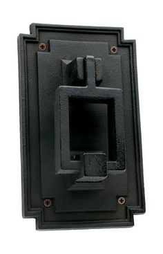 Craftsman door knocker by Rejuvenation  sc 1 st  Pinterest & Ginkgo Leaf Doorbell  Mission Door Bells and Door Knockers ...