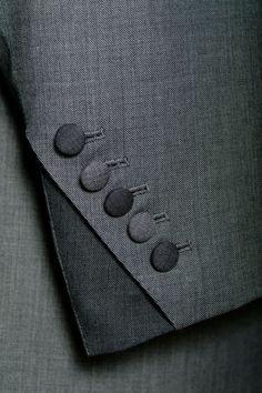 Cuff detail - Savile row suit