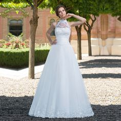 Find More Wedding Dresses Information about Sexy A Line Halter Sequined Lace Detachable Skirt Wedding Dresses 2016 Long Brazil Bridal Gowns vestido de noiva sereia UW75,High Quality dress berry,China dress sack Suppliers, Cheap dress loafer from LaceBridal on Aliexpress.com