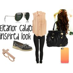 """""""Eleanor Calder style"""" by azinaz on Polyvore"""