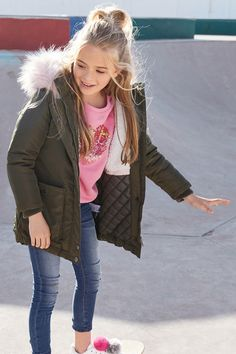 Buy Khaki Parka (3-16yrs) from the Next UK online shop