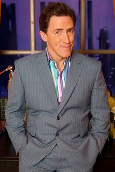 Rob Brydon to host 'mediocre' comedy game show Comedy Actors, Johnny Vegas, Rob Brydon, Sue Perkins, Declan Donnelly, Gavin And Stacey, Anthony Kiedis, Christian Slater