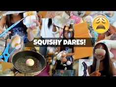 Squishy And Slime Dares : BIGGEST SQUISHY COLLECTION PT. 3 - YouTube Random Squishie videos Pinterest Best Youtube ideas