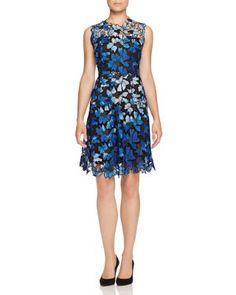 Elie Tahari Kaisa Floral Lace Dress | Bloomingdale's