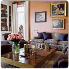 aerin lauder home | Aerin Lauder's Beauty At Home | Life In Bright Pink