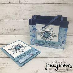 Snowflake Splendor Suite Snowflake Cutouts, Snowflake Cards, Snowflake Designs, Snowflakes, Christmas Class Treats, Stampin Up Christmas, Christmas Crafts, Christmas Tag, Happy September