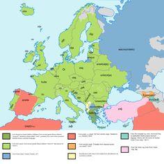 """""""Oil"""" in various European Languages"""
