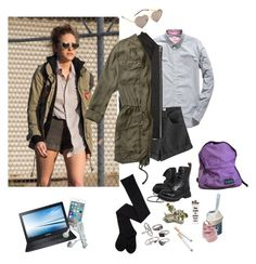 """""""Mr. Robot - Darlene"""" by lexhtx ❤ liked on Polyvore featuring Superdry, Wildfox, Chicnova Fashion, James Perse, Mudd, Abercrombie & Fitch, Samsung, Disney and ...Lost"""