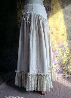 long #skirt tutorial #handmade skirt