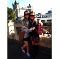 Students study abroad in London for the Fall semester.  Instagram credit: @sydneebharlan