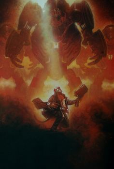 Hellboy II: The Golden Army by Drew Struzan