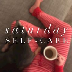 Ahhh, Saturday. It makes you instantly calmer to say it's name, doesn't it?⠀ ⠀ What are you doing to practice self-care today? Here are some ideas:⠀ ⠀ -Get moving (take a walk, or swing with your kids at the park)⠀ -Relax (mani, pedi, snuggle time!)⠀ -Breath & calm work (meditation, prayer, deep breathing)⠀ -Practice gratitude (write down 10 things you're thankful for, or share with a friend)⠀ -Connect with others (call, hang out, write a letter to a loved one)⠀ -Check out other suggestions…