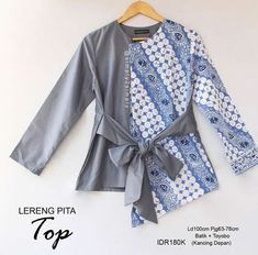 @simply2simply Batik Blazer, Blouse Batik, Batik Dress, Frock Fashion, Batik Fashion, Women's Fashion Dresses, Muslim Fashion, Korean Fashion, Batik Kebaya