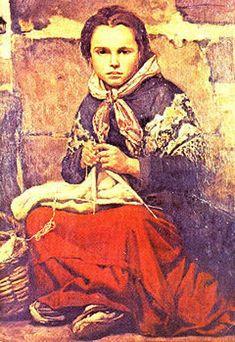 Joaquin Sorolla y Bastida (1863 – 1923, Spanish)  Niña
