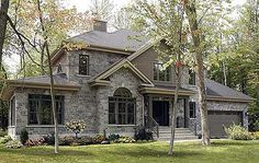 Pretty houses on pinterest stone homes brick homes and for Plusen landscape architects