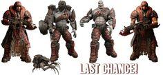 Gears of War - 7 Action Figure - Series 4 Assort (Case 8) | NECAOnline.com