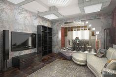 Таунхаус  первый этаж #3dvisualization #interior