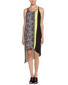 Spotted this BCBGMAXAZRIA Cic Black Colorblocked Dress on Rue La La. Shop (quickly!).