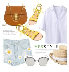 """""""YESSTYLE.com"""" by monmondefou ❤ liked on Polyvore featuring Sentubila, Cornetti, Gap, AORON, party, anniversary, celebration and yesstyle"""