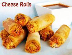 indian nasata   Cheese Egg Roll Recipe
