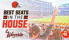 There is still time to enter our 'Best Seats in the House' contest! Win luxury suite seats for a home game plus Browns prizes. Go Browns! #Cleveland #ClevelandBrowns #DawgPound