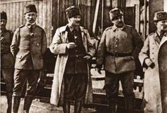 1881-1915 yılları arası Atatürk albümü. Çanakkale, 1915