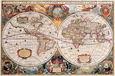 Antique Map - Henricus Hondius 1630