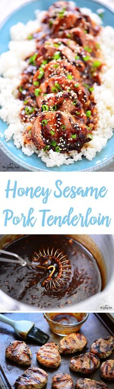 This Honey Sesame Pork Tenderloin is an easy family dinner recipe that's perfect for busy weeknights. The pork is fully cooked in only 8 minutes…