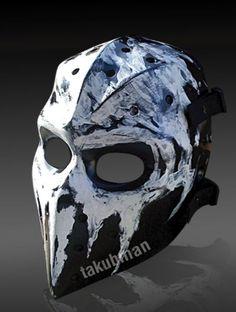 Hockey's Most Badass Goalie Masks ~ Damn Cool Pictures