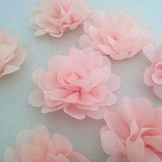Fleur en tissu 5cm p