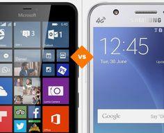 Lumia 640 XL e Galaxy J5: veja o comparativo de ficha técnica (Foto: Arte/TechTudo)