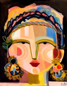 LE Didrika PRINT 11X14 by ARTbyHKM on Etsy