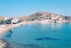 Παραλία Ντελαγράτσια, Σύρος, #delagratsia, #syros, #beach, #cyclades, www.greektips.gr