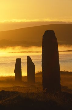 Orkney (looks like part of the Ring of Brodgar to me)