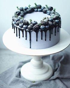 Erwähnungen J'aime, 8 Kommentare - ТОРТЫ НА ЗАКАЗ ( . Sweet Cakes, Cute Cakes, Pretty Cakes, Beautiful Cakes, Amazing Cakes, Cake Cookies, Cupcake Cakes, Order Cake, Blueberry Cake