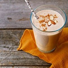 Get ready to own your day with this healthy Almond Butter and Banana Protein Smoothie, complete with 7 grams of protein per serving.