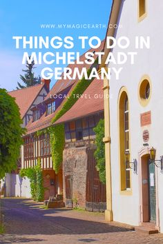 Located in the heart of the Odenwald nature park, the beautiful historic old town of Michelstadt is a perfect day trip destination from Frankfurt. #Germany #daytrips #Europe #traveltips #weekendtrip #德国 #Deutschland #roadtrip #thingstodo #familywithkids #familytravel #michelstadt #oldenwald European Travel Tips, Europe Travel Guide, Travel Guides, Travel Abroad, Germany Destinations, Travel Destinations, Berlin, Frankfurt Germany, Travel Reviews