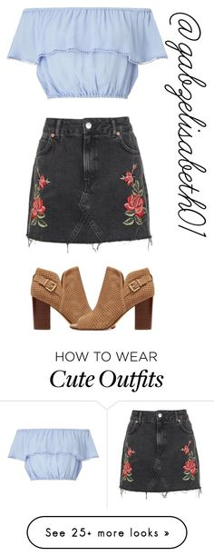 """""""cute casual outfit"""" by gabzelisabeth01 on Polyvore featuring Topshop, Miss Selfridge and Sam Edelman"""