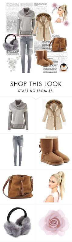 """""""Always"""" by malina-husgovic ❤ liked on Polyvore featuring Dondup, UGG Australia, Accessorize, women's clothing, women's fashion, women, female, woman, misses and juniors"""