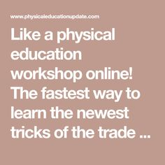 Like a physical education workshop online! The fastest way to learn the newest tricks of the trade in PE, coaching and fitness. Over 2100 searchable, easy-to-read, illustrated articles on 40 different PE & sports topics. Plus videos, discussion group, blog, and free newsletter. Physical Education Lesson Plans, Polka Music, Importance Of Time Management, Plyometrics, Brain Breaks, New Tricks, Discussion Group, Physics, Coaching