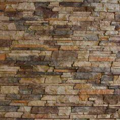 Neat Chiselled Edge Model of Faux Stacked Stone Wall Panels from Interior Faux Stone Wall Panels on Category Interior Design Faux Stone Wall Panels, Faux Stone Walls, Stone Veneer Panels, Stone Accent Walls, Faux Panels, Faux Rock Walls, Faux Brick, Stone Siding, 3d Texture