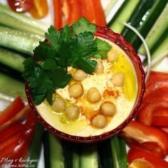 Hummus ze zeleninou