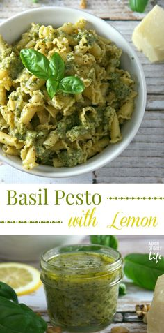 Give traditional pesto a makeover. Add another flavor dimension to this summer favorite...make pesto sauce with a citrus-y twist!