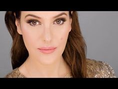 Lisa Eldridge Make Up | Video | Simple Smokey Eye & Rosy Lip - using drugstore makeup
