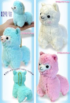 Alpaca Plushie. I want one. But I'm 23 and they serve no purpose 'cept cuteness.