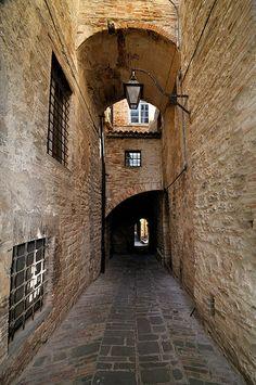 Gubbio, Perugia, Umbria, Italy.