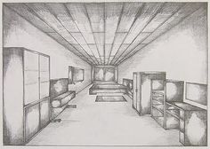 Perspective drawings (students' work)- see website for further examples