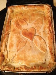 How many times have you found a chicken pot pie recipe only to be disappointed by the ingredients of canned soups or pre-packaged seasonings? This recipe is fresh ingredients, healthy and very tasty!