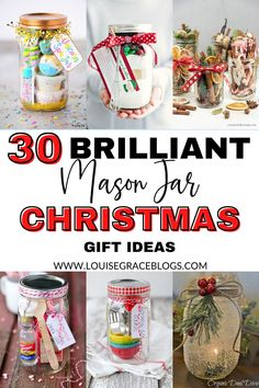 Mason Jar Christmas Crafts, Christmas Gifts For Teen Girls, 1st Christmas, Gifts For Teens, Diy Christmas Gifts, Christmas Ideas, Mason Jar Meals, Mason Jar Gifts, Meals In A Jar
